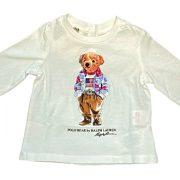 polo ralph lauren neonata t-shirt