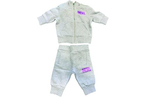 diesel neonata tuta ginnastica