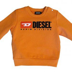 diesel neonato_a felpa