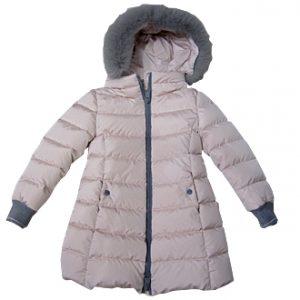 herno bambina cappotto piuma