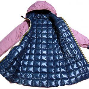 k-way bambina cappotto piuma 2