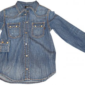 diesel bambino camicia jeans