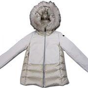 rrd bambina cappotto piuma
