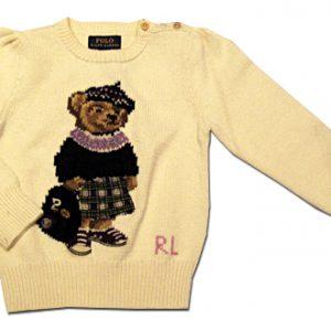polo ralph lauren bambina maglione