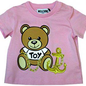 moschino neonata t-shirt