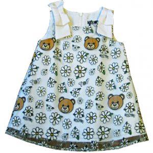 moschino neonata vestitino