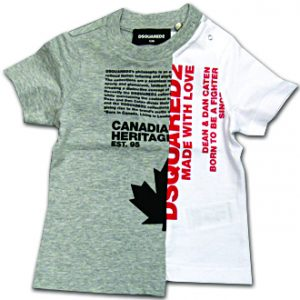 dsquared2 neonato t-shirt