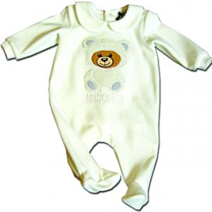 moschino neonato-a tutina